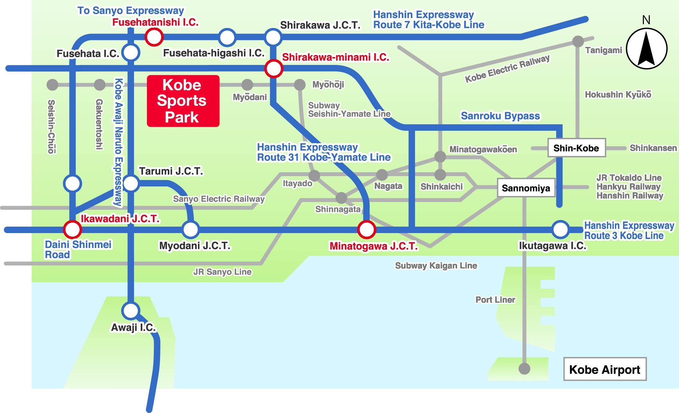 Traffic access map (car)