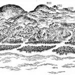 在摄津名胜図絵看的过去的日子的须磨浦